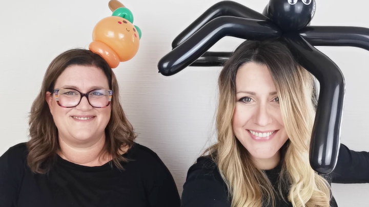 TUTORIAL PALLONCINI PER HALLOWEEN!